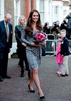 Catherine, Duchess of Cambridge, visits The Hope House on February 19, 2013.