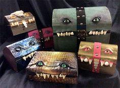 Mellie Z monster boxes