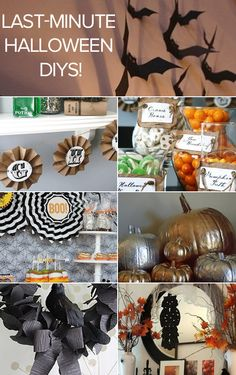 DIY Projects: Last-Minute Halloween Decor