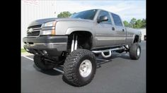 2006 Chevy Silverado 2500HD Lifted Truck For Sale http://www.onlyliftedtrucks.com