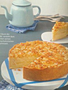 Apfel-Bienenstich-Torte.
