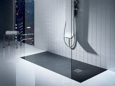 Download the catalogue and request prices of Terran By roca sanitario, rectangular stonex® shower tray