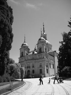 La Granja - Segovia #architecture #arquitectura #bn #bw #blanckandwhite #blancoynegro