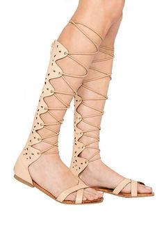 The Skinny-Strap Gladiator%0AFrom designer shower shoes to Birks, 2014 was the year of the chunky-strap sandal. This summer, let's lighten up a little. Gladiators with thinner ties made an appearance on the Gucci and Valentino runways — and we predict the trickle-down (read: affordable) versions to be abundant this summer.