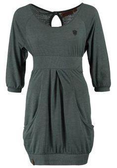 SCHMITZ - Jerseykleid - green grey melange