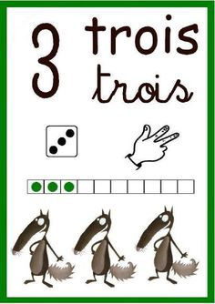 French Numbers, Petite Section, Numbers Preschool, Play Day, French Classroom, Nursery School, French Lessons, Kindergarten Classroom, Montessori