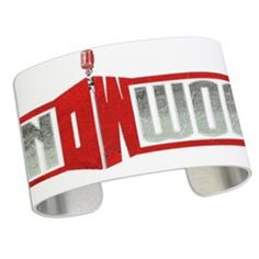 Don Woods Cuff Bracelet White