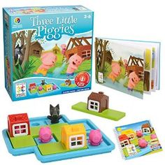 Amazon.com: Three Little Piggies: Toys & Games