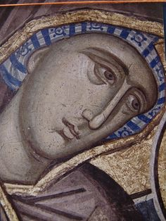 fragment of the fresco from Visoki Dečani (Serbian Cyrillic: Високи Дечани) is a major Serbian Orthodox Christian monastery located in Metohia (Kosovo)