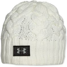 7c9913b8a2e Under Armour Around Town Beanie ( 27) ❤ liked on Polyvore featuring  accessories