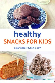 Make ahead school lunch ideas for kids. Get organised for back to school with this healthy lunchbox snacks. - Organised Pretty Home Lunch Box Recipes, Lunchbox Ideas, Snack Recipes, Free Recipes, Nut Free Snacks, Healthy Freezer Meals, Healthy Snacks, Healthy Eating, Kids Lunch For School