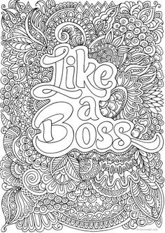 Coloring Book Pages Adults Fresh Free Adult Coloring Pages 35 Gorgeous Printable Coloring Quote Coloring Pages, Fairy Coloring Pages, Printable Adult Coloring Pages, Mandala Coloring Pages, Free Coloring Pages, Coloring Books, Coloring Sheets, Kids Coloring, Adult Colouring In