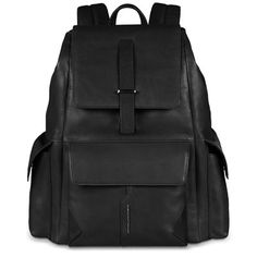 Flap over computer backpack with padded iPad®Air/Air2 compartment Omicron