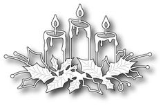 Memory Box Die [98661] DIES- Glowing Candles
