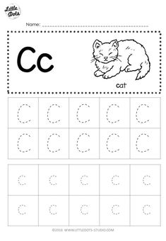 Preschool printables tracing free letter c tracing worksheets little dots education preschool and activities preschool tracing . Letter C Activities, Alphabet Tracing Worksheets, Printable Preschool Worksheets, Printable Letters, Alphabet Worksheets, Kindergarten Worksheets, Kindergarten Class, Alphabet Writing, Color Activities