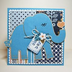 baby card #cricut #cuttlebug Cricut Cuttlebug, Cricut Cards, Stampin Up Cards, Baby Theme, Make Your Own Card, Handmade Books, Cricut Creations, Punch Art, Baby Party