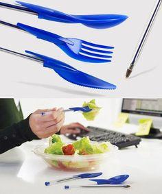 Cutlery for Bic pens @ finofilipino.com