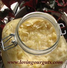 "♥Crispy Cruncy Kraut♥ [We've been making kraut for 6 months and this information seems a little difficult. We've not had too much trouble not using airlocks and special contains--just mason jars and regular lids. We are looking into airlocks and this ""pickl-it"" so this information is important....]"