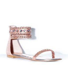 Rhinestone Sandals :)
