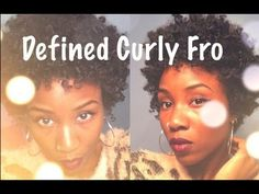 CURLY HAIR TUTORIAL | TWA | HOW TO STYLE TYPE 4 HAIR - My Color of Beauty