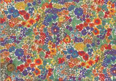LOVE this pattern!  LibertyShop MERCI   Rakuten Global Market: LIBERTY liberty prints and Japanese tanaron fabric (eternal) [Margaret Annie] (マーガレットアニー) 3631165...