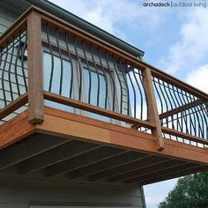 Small Balcony Deck Without Stairs