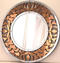 Зеркало венецианское, арт. 513, Ero Bronze, 95см х 95см - Тамано.ру