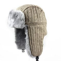 39b46663 winter Warm hats Russian aviator hat earflaps cap Protect Warm Thicken bomber  Hat for women&men