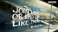 Declare which side you're on. #aliens #resistance | Falling Skies