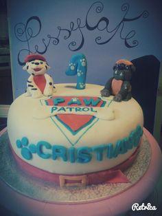 Torta paw patrol Cake paw patrol Cake design Mascarpone e banana