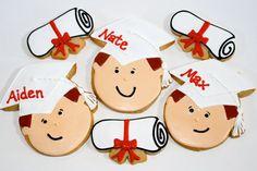 Kindergarten graduation cookies from Cookie Couture, LLC