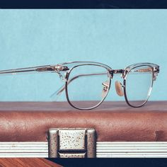 ddc5775cd31 Look to the future    Transparent Clubmaster frames pair classic style with  sleek