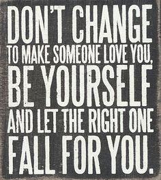 'Don't Change' Box Sign