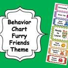 Here is a fun furry friends themed behavior chart for your classroom!  Great way to promote positive behavior!