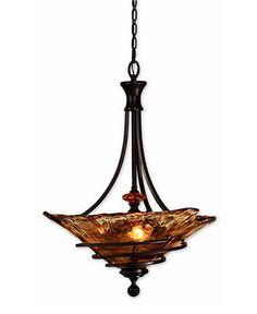 Uttermost Lighting, Vitalia 3-Light Pendant - Ceiling Lighting - for the home - Macy's