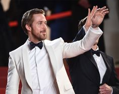 Hey girl!  @RyanGosling at @theniceguys premiere at at the 69th Cannes Film Festival (@festivaldecannes) #Cannes #CannesFilmFestival #TheWrap : @gettyimages