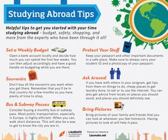 The Laureate International Universities network offers different studying options through our International Programs portal - http://global.laureate.net/  These are some useful tips you can keep in mind when studying abroad in any of our universities.  #Travel #Education