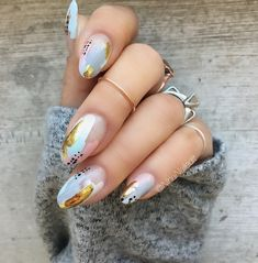 Excuse Me Sur from @essiepolish's Spring 2017 collection (check out the look on @preendotme!), @smithandcult's Bitter Buddhist, and @shopncla's Take a Dip + gold foil from @dollarnailart.media = spring! New, cozy sweater from @forever21! Dave and I are house hunting in Newton and Somerville today  What're you guys up to?