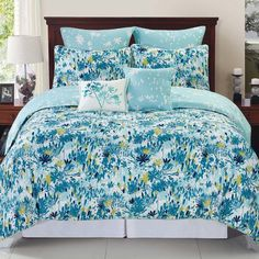 Found it at Wayfair - Swarna Floral Reversible Comforter Set