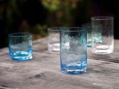 Despite the name, Winter glasses work wonderfully in any season. Mouth blown drinking glasses made in Riihimäki, Finland by Glass studio Mafka&Alakoski.