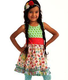 Festival Tank Dress - sz 4 - Wonderful Parade ($55 MJ Crazies); sold to H 3/10/16 $30
