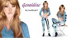 Geraldine female model by InaMac69 - Sims 3 Downloads CC Caboodle