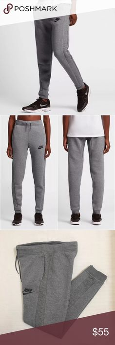 The Women's Nike Sportswear Rally Pants The Women's Nike Sportswear Rally Pants is made for premium comfort all day. Materials: 63% cotton, 19% polyester, 18% ranyon. Style/Color: 683800-343  • Women's size Medium  • NEW with tags • No trades •100% authentic Nike Pants Track Pants & Joggers