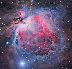 Orion Nebula - I saw this on a calendar the other day and really regret not purchasing said wall square.