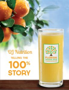 There are many consumers that believe 100% orange juice and the sugars naturally contained in orange juice are unhealthy. This pictured has largely been painted by the media who frequently reports misinformation, especially during a time when there is large concern about the health and weight of the nation's citizens. Promoting a healthy eating pattern that focuses on choosing nutrient-dense foods and beverages within calorie needs has never been more important.