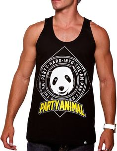 46d39b3ded071d Items similar to Party Animal Tank on Etsy. Rave ShirtsMen s ...