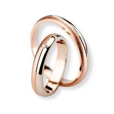 Verighete Coriolan V271 Rose Gold Engagement, Vintage Engagement Rings, Solitaire Engagement, Womens Wedding Bands, Couple Rings, Dream Ring, White Gold Rings, Band Rings, Rings For Men