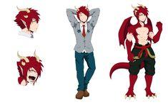 BNHA OC: Tenshigahara Ryuutaro by KikikZimik - hero academia My Hero Academia, Hero Academia Characters, Fantasy Characters, Reference Manga, Drawing Reference Poses, My Character, Character Concept, Avatar, Writing Fantasy
