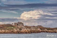 Looking across the bay towards Fort Pembroke. Incredible cloud formations to be seen out there this afternoon. #Guernsey #GreatThings  Link to the whole collection of 'Georgie's Guernsey' :-http://chrisgeorge.dphoto.com/#/album/4daaes  Picture Ref: 20_12_15 — in Guernsey.