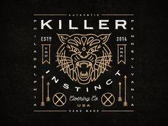 Killer Instinct Clothing Co. by Steve Wolf